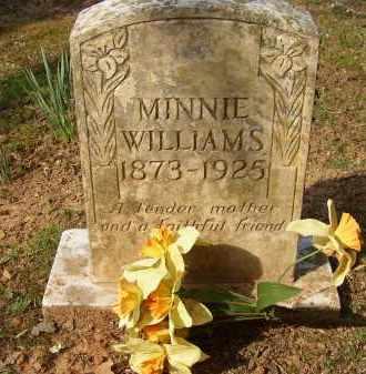 WILLIAMS, MINNIE - Lonoke County, Arkansas   MINNIE WILLIAMS - Arkansas Gravestone Photos