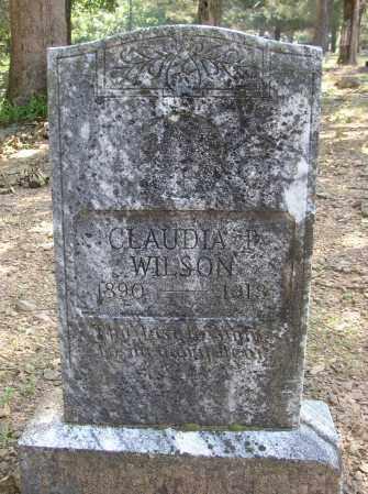 WILSON, CLAUDIA P. - Lonoke County, Arkansas | CLAUDIA P. WILSON - Arkansas Gravestone Photos