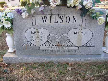 WILSON, JAMES A. (SP4 US ARMY) - Lonoke County, Arkansas | JAMES A. (SP4 US ARMY) WILSON - Arkansas Gravestone Photos