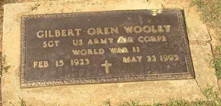 WOOLEY  (VETERAN WWII), GILBERT OREN - Lonoke County, Arkansas | GILBERT OREN WOOLEY  (VETERAN WWII) - Arkansas Gravestone Photos