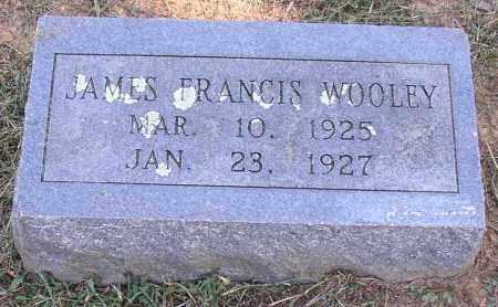 WOOLEY, JAMES FRANCIS - Lonoke County, Arkansas | JAMES FRANCIS WOOLEY - Arkansas Gravestone Photos