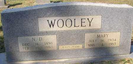 WOOLEY, N. D. - Lonoke County, Arkansas   N. D. WOOLEY - Arkansas Gravestone Photos