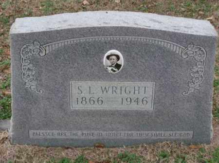 WRIGHT, S  L - Lonoke County, Arkansas | S  L WRIGHT - Arkansas Gravestone Photos