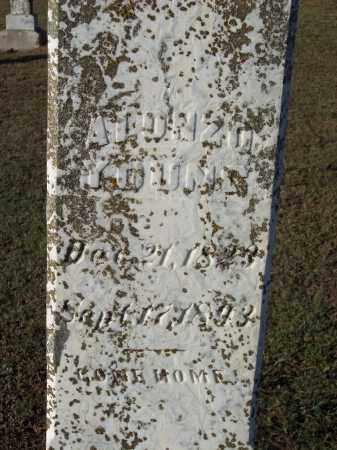 YOUNG, ALONZO - Lonoke County, Arkansas | ALONZO YOUNG - Arkansas Gravestone Photos