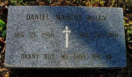 ALLEN, DANIEL MARCUS - Madison County, Arkansas | DANIEL MARCUS ALLEN - Arkansas Gravestone Photos
