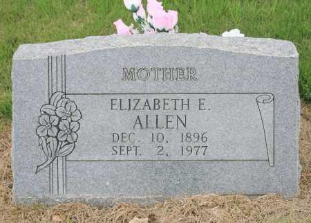 ALLEN, ELIZABETH E. - Madison County, Arkansas | ELIZABETH E. ALLEN - Arkansas Gravestone Photos