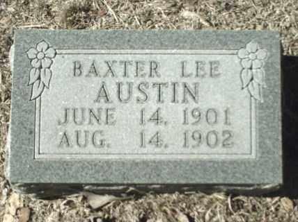 AUSTIN, BAXTER LEE - Madison County, Arkansas | BAXTER LEE AUSTIN - Arkansas Gravestone Photos