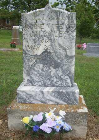 BAILEY, ADDIE - Madison County, Arkansas | ADDIE BAILEY - Arkansas Gravestone Photos
