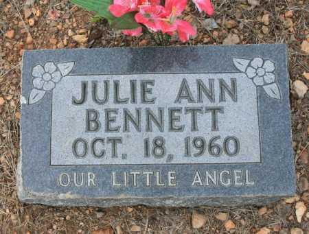 BENNETT, JULIE ANN - Madison County, Arkansas | JULIE ANN BENNETT - Arkansas Gravestone Photos