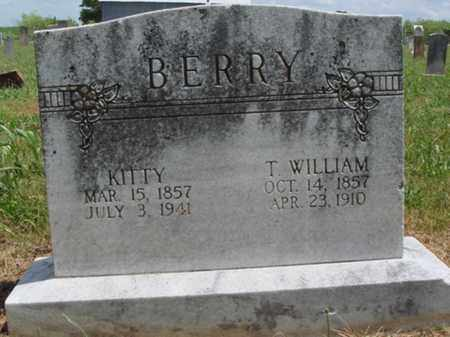"BERRY, CATHERINE ELIZABETH ""KITTY"" - Madison County, Arkansas | CATHERINE ELIZABETH ""KITTY"" BERRY - Arkansas Gravestone Photos"