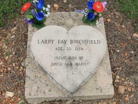BIRCHFIELD, LARRY FAY - Madison County, Arkansas | LARRY FAY BIRCHFIELD - Arkansas Gravestone Photos