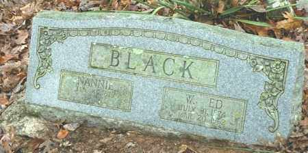 BLACK, NANNIE - Madison County, Arkansas | NANNIE BLACK - Arkansas Gravestone Photos