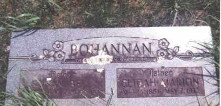 BOHANNAN, SUSAN BELLE - Madison County, Arkansas | SUSAN BELLE BOHANNAN - Arkansas Gravestone Photos