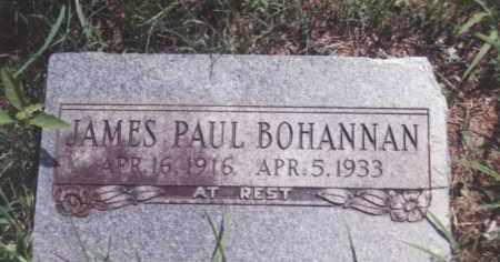 BOHANNAN, JAMES PAUL - Madison County, Arkansas | JAMES PAUL BOHANNAN - Arkansas Gravestone Photos