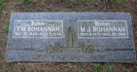 BOHANNAN, T. M. - Madison County, Arkansas | T. M. BOHANNAN - Arkansas Gravestone Photos