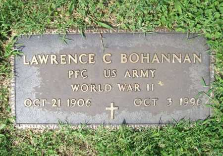 BOHANNAN (VETERAN WWII), LAWRENCE CLINT - Madison County, Arkansas | LAWRENCE CLINT BOHANNAN (VETERAN WWII) - Arkansas Gravestone Photos