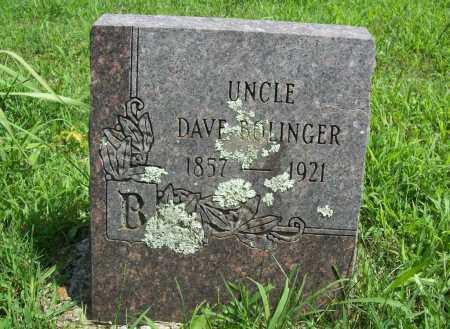 BOLINGER, DAVE - Madison County, Arkansas | DAVE BOLINGER - Arkansas Gravestone Photos