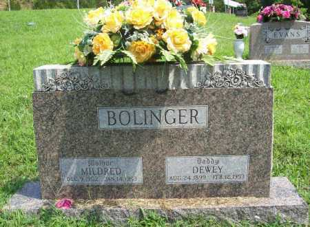BOLINGER, DEWEY - Madison County, Arkansas | DEWEY BOLINGER - Arkansas Gravestone Photos