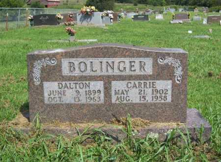 BOLINGER, CARRIE - Madison County, Arkansas | CARRIE BOLINGER - Arkansas Gravestone Photos