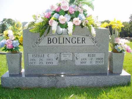 BOLINGER, ESTELLE CORA - Madison County, Arkansas | ESTELLE CORA BOLINGER - Arkansas Gravestone Photos