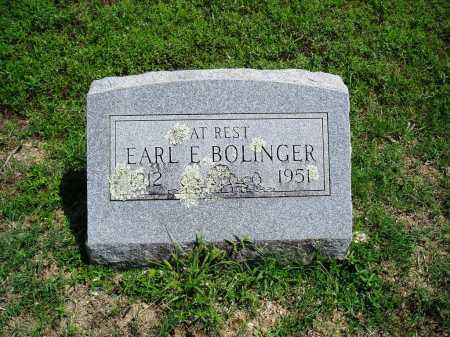 BOLINGER, EARL E. - Madison County, Arkansas | EARL E. BOLINGER - Arkansas Gravestone Photos