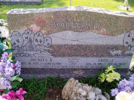 BOLINGER, JUANITA B. - Madison County, Arkansas | JUANITA B. BOLINGER - Arkansas Gravestone Photos