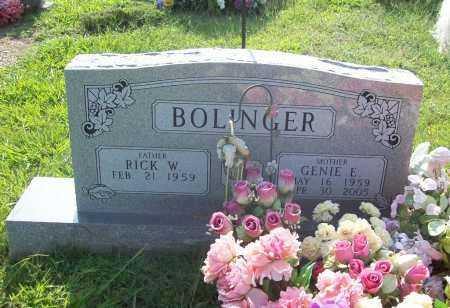 WILDER BOLINGER, GENIE ELLEN - Madison County, Arkansas | GENIE ELLEN WILDER BOLINGER - Arkansas Gravestone Photos