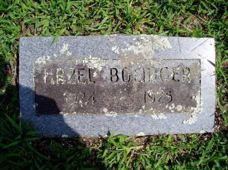 BOLINGER, HAZEL - Madison County, Arkansas | HAZEL BOLINGER - Arkansas Gravestone Photos