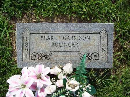 BOLINGER, HULGA PEARL - Madison County, Arkansas   HULGA PEARL BOLINGER - Arkansas Gravestone Photos