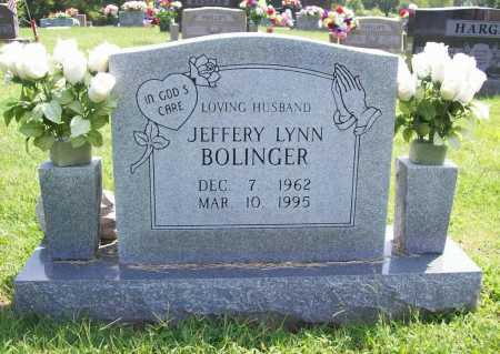 BOLINGER, JEFFERY LYNN - Madison County, Arkansas | JEFFERY LYNN BOLINGER - Arkansas Gravestone Photos