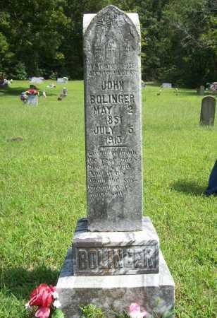 BOLINGER, JOHN - Madison County, Arkansas | JOHN BOLINGER - Arkansas Gravestone Photos