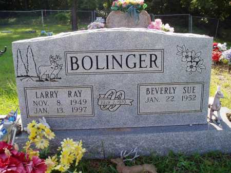 BOLINGER, LARRY RAY - Madison County, Arkansas   LARRY RAY BOLINGER - Arkansas Gravestone Photos