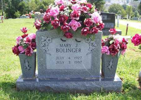 SPARKS BOLINGER, MARY JOSEPHINE - Madison County, Arkansas   MARY JOSEPHINE SPARKS BOLINGER - Arkansas Gravestone Photos