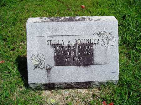 BOLINGER, STELLA A. - Madison County, Arkansas | STELLA A. BOLINGER - Arkansas Gravestone Photos