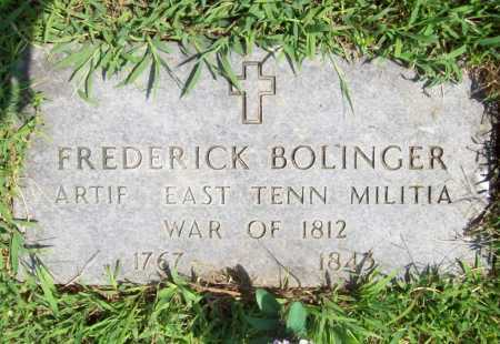 BOLINGER (VETERAN 1812), FREDERICK - Madison County, Arkansas | FREDERICK BOLINGER (VETERAN 1812) - Arkansas Gravestone Photos