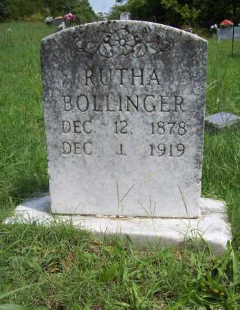 BOLLINGER, RUTHA - Madison County, Arkansas | RUTHA BOLLINGER - Arkansas Gravestone Photos