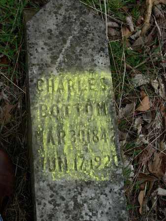 BOTTOM, CHARLES - Madison County, Arkansas | CHARLES BOTTOM - Arkansas Gravestone Photos