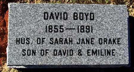 BOYD, DAVID - Madison County, Arkansas | DAVID BOYD - Arkansas Gravestone Photos