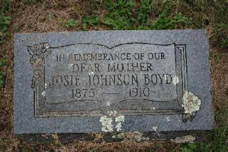 JOHNSON BOYD, JOSIE - Madison County, Arkansas | JOSIE JOHNSON BOYD - Arkansas Gravestone Photos