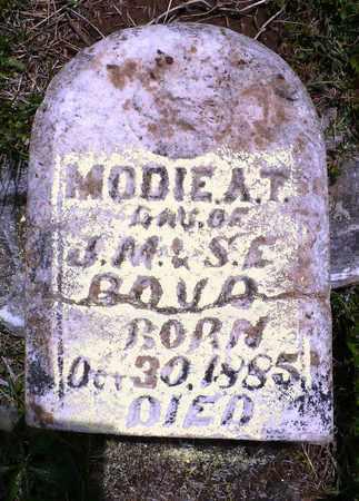 BOYD, MODIE A.T. - Madison County, Arkansas | MODIE A.T. BOYD - Arkansas Gravestone Photos