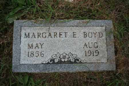 BOYD, MARGARET E. - Madison County, Arkansas | MARGARET E. BOYD - Arkansas Gravestone Photos