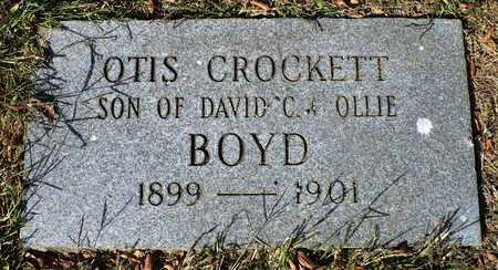 BOYD, OTIS CROCKETT - Madison County, Arkansas | OTIS CROCKETT BOYD - Arkansas Gravestone Photos
