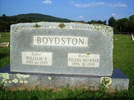 BOYDSTON, WILLIAM F. - Madison County, Arkansas | WILLIAM F. BOYDSTON - Arkansas Gravestone Photos