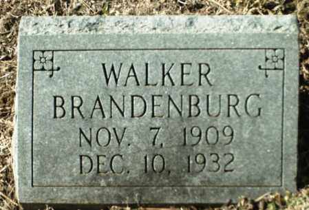 BRANDENBURG, WALKER - Madison County, Arkansas | WALKER BRANDENBURG - Arkansas Gravestone Photos