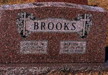 BROOKS, BERTHA L. - Madison County, Arkansas | BERTHA L. BROOKS - Arkansas Gravestone Photos