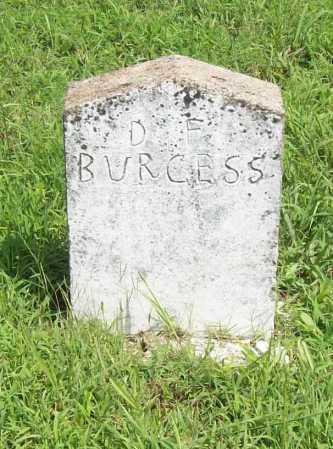 BURGESS, D. F. - Madison County, Arkansas   D. F. BURGESS - Arkansas Gravestone Photos