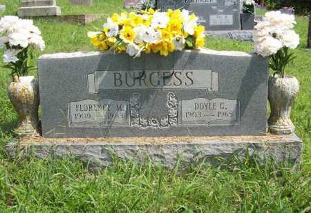 BURGESS, FLORENCE M - Madison County, Arkansas | FLORENCE M BURGESS - Arkansas Gravestone Photos