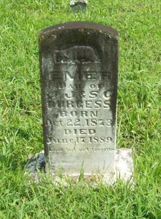 BURGESS, EMER - Madison County, Arkansas | EMER BURGESS - Arkansas Gravestone Photos