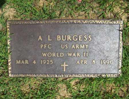 BURGESS (VETERAN WWII), A. L. - Madison County, Arkansas | A. L. BURGESS (VETERAN WWII) - Arkansas Gravestone Photos