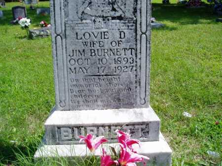 PHARRIS BURNETT, LOVIE D. - Madison County, Arkansas | LOVIE D. PHARRIS BURNETT - Arkansas Gravestone Photos